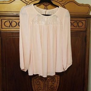 American Eagle Outfitters Blouse Sz L